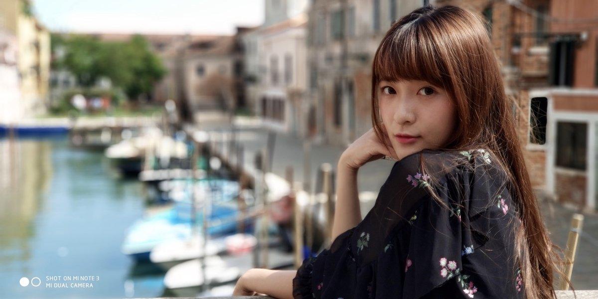 Фото на Xiaomi Mi Note 3 с эффектом боке