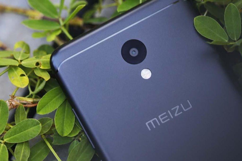 Meizu M6. Задняя панель