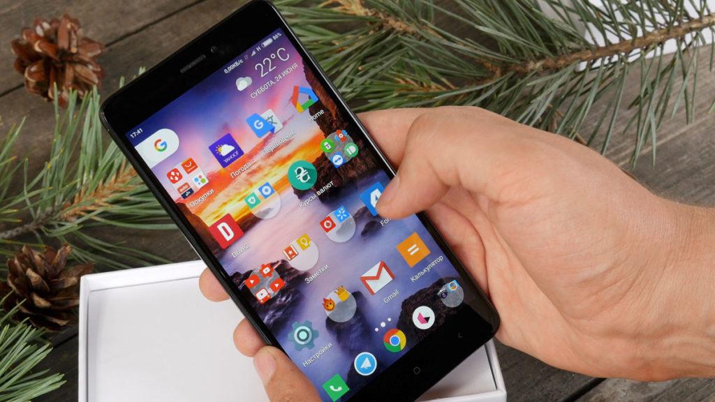 Xiaomi Redmi Note 4x. Дисплей.
