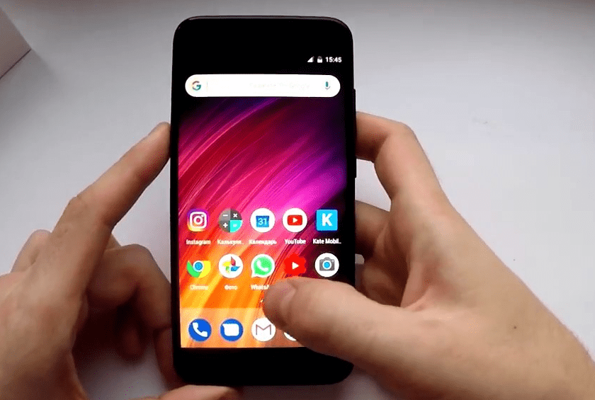 Xiaomi Mi A1. Монитор