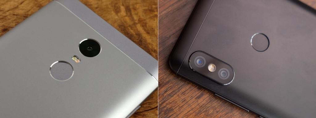 Xiaomu Redmi Note 4X и Redmi Note 5. Фотокамеры.