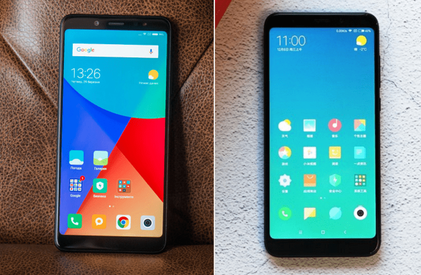 Xiaomi Redmi Note 5 и Redmi 5 Plus. Экраны
