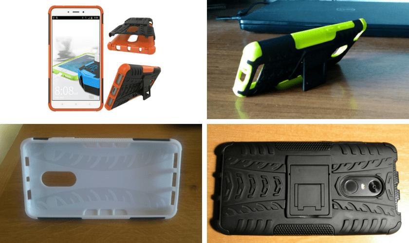 Комбинированный защитный чехол для Xiaomi Redmi. Вариант 2.