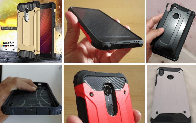 Комбинированный защитный чехол для Xiaomi Redmi. Вариант 1.