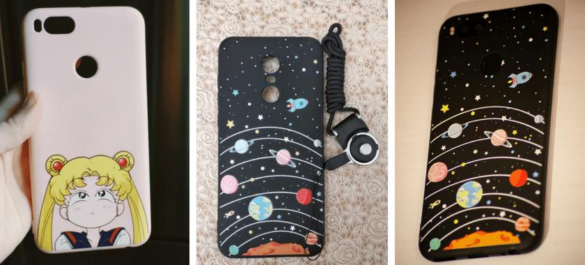 Мягкий чехол для Xiaomi Redmi с изображением героев мяльтфильмов