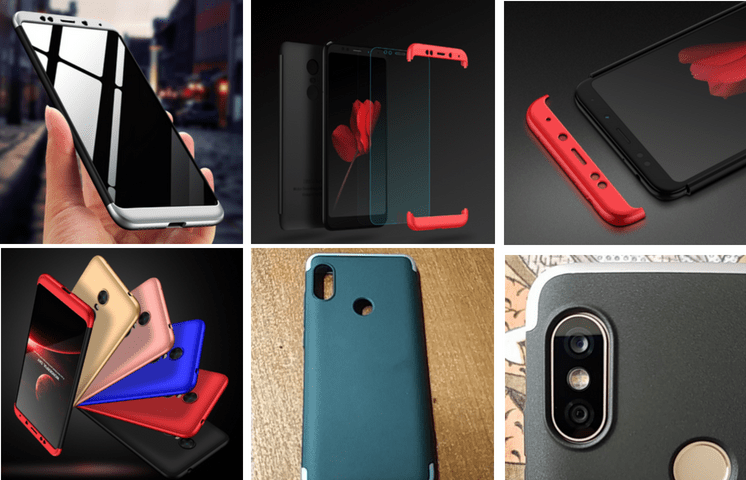 Защитный чехол 360 градусов для Xiaomi Redmi 5