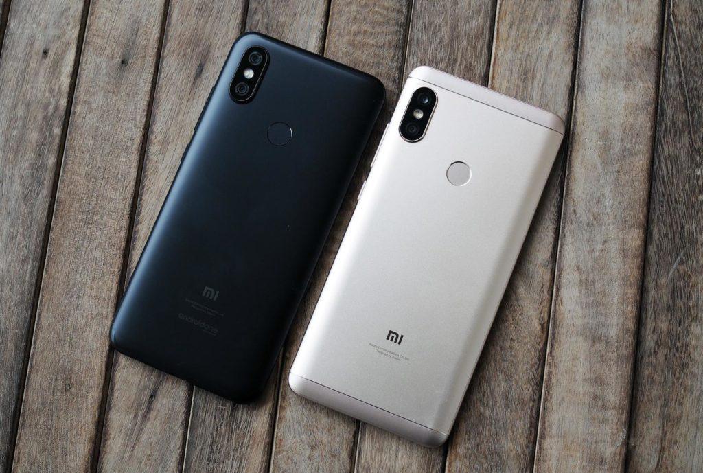 Xiaomi Mi A2 и Mi A2 Lite. Вид сзади