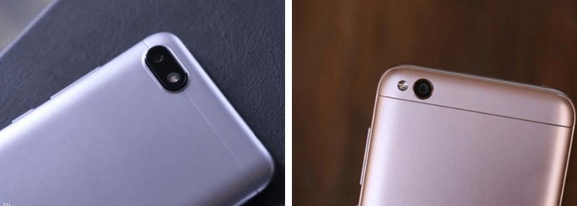 Xiaomi Redmi 6A и Redmi 5A. Внешний вид отокамер