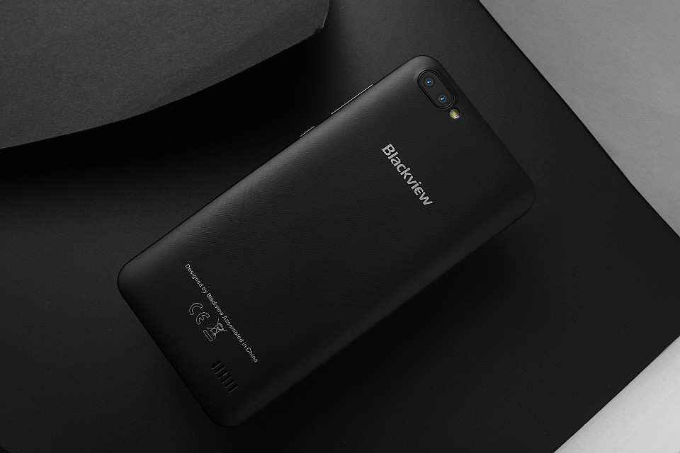Blackview А7. Задняя панель