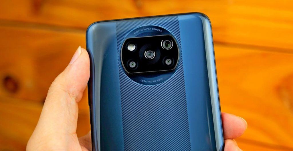 Смартфон POCO X3 Pro. Блок фотокамер