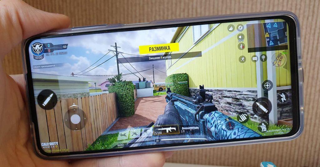 Смартфон POCO X3 Pro. Экран.