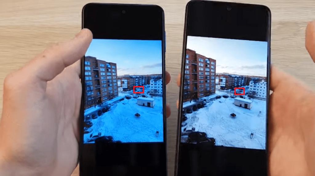 Смартфоны Redmi Note 9 Pro и Redmi Note 10 Pro. Сравнение фото.