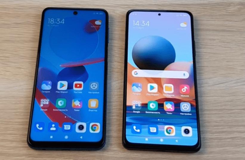 Смартфоны Redmi Note 9 Pro и Redmi Note 10 Pro. Экраны.