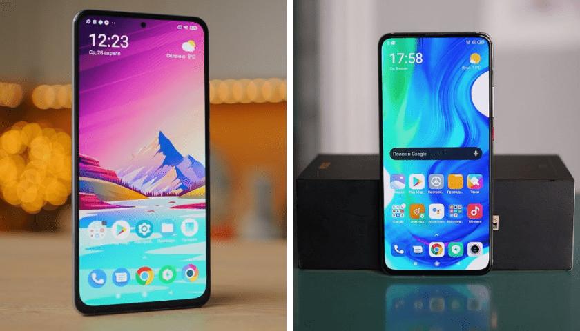 Смартфоны POCO F3 и POCO F2 Pro Экраны.