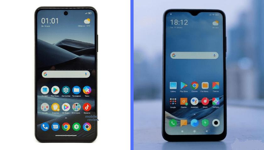 Смартфоны POCO M3 Pro и POCO M3. Экраны.