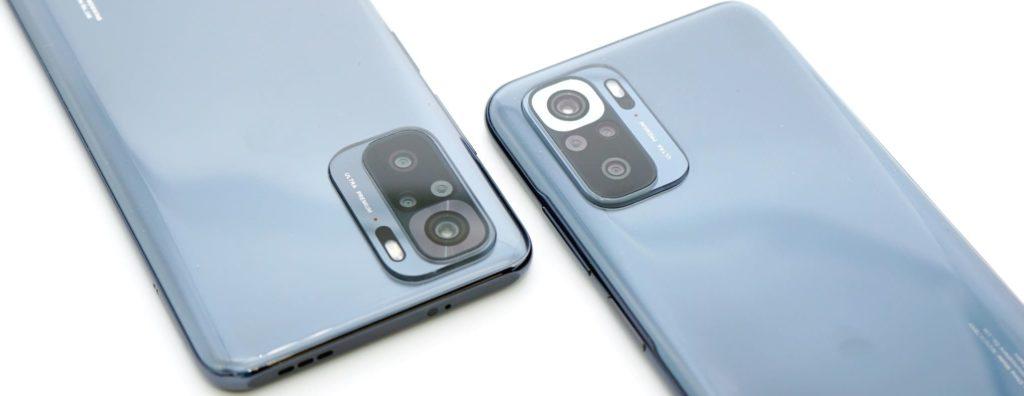 Смартфоны Redmi Note 10 и Redmi Note 10S. Блоки камер.