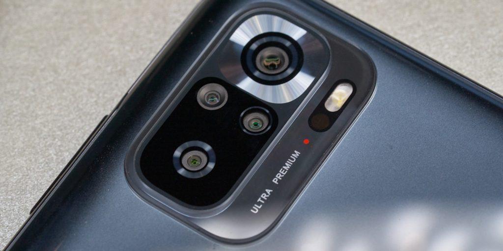 Redmi Note 10S. Блок фотокамер.